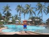 Mario a la piscine par julien (CE1)