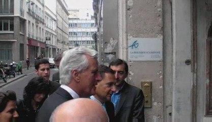 Michel Barnier et Eric Besson: déplacement intégration