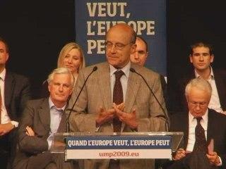 Discours Juppé - meeting de Levallois