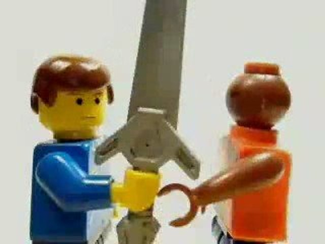 Lego vs. Mega Blok - Sweet Moves
