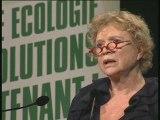 Eva Joly au meeting Europe écologie de Nantes