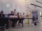 La team en direct avec HAPPY FM