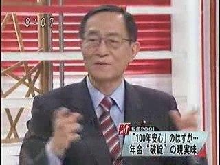 年金は破綻しない 権丈善一 2009年5月31日 新報道2001 (part1)