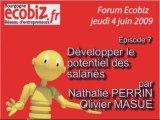 Forum Ecobiz épisode 7 : RH, le potentiel des salariés