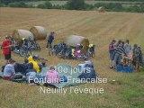 Camps scouts itinéraire velo été 2008