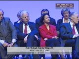 EVENEMENT,Meeting de l'UMP pour les éléctions européennes : Michel Barnier