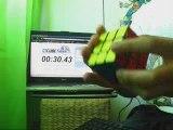Rubik's cube fini en 30 secondes (méthode intermédiaire)