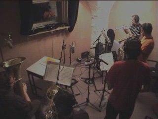 """Le Peuple de l'Herbe en studio pour """"Radio Blood Money"""""""
