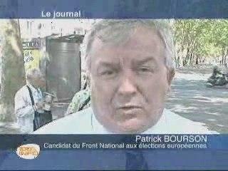 -Patrick  Bourson  Sur TV TOURS