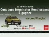 Concours : 1 Jeep Wrangler Terminator Renaissance à gagner