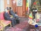 Denis Sassou Nguesso reçoit l'ambassadeur de Lybie au Gabon