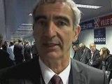 """DOMENECH """" Un bon match, je suis satisfait """" EDF 2010"""