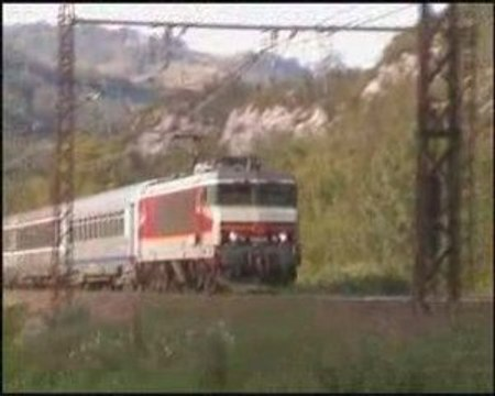 La CC 6549 entre en gare de Virieu-le-Grand
