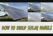 How To Build Solar Panels-Learn How To Build Solar Panels