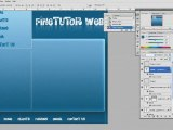 Complete Cool Web Template Creation Design Photoshop Tutoria