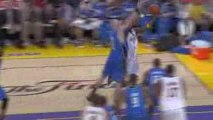 Lamar Odom scores 19 points and grabs 8 rebounds off the ben