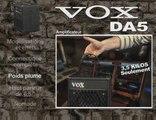 Ampli guitare VOX DA5 (La Boite Noire)