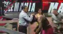 Vickie Guerrero vs Santina Marella Hog Pen Match 09