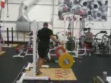 Athlé Adam Kuehl Musculation muscu jeté 170kg