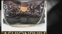 Jimmy Choo Handbags (Black) Large Rio Clutch