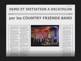 COUNTRY FRIENDS BAND DEMO DECATHLON CAMPUS