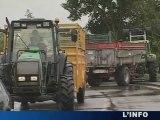 Sarthe : La SOCAMAINE assiégée par les agriculteurs!
