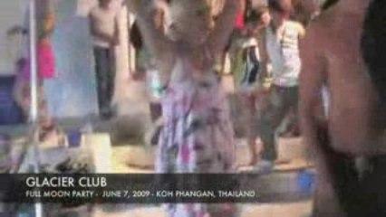 Full moon party - June 7, 2009 - Koh Phangan