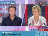 Nadine Morano iTele/Envoye special - Hou la menteuse!