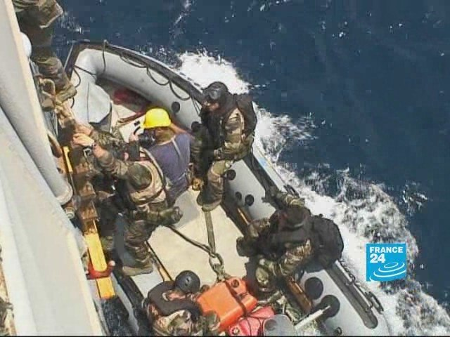 Somalia: French warship on the hunt for pirates