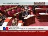 SEANCE,Proposition de loi concernant l'accès aux crédits des PME