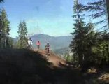 Whistler - freeride park - mountain bike biking downhill