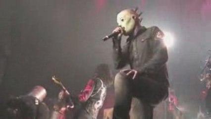 Slipknot live (Osaka - Japan)