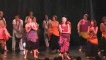 danses et percussions Africaines Mix'terres Blois 2009