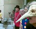 Troubadours et Saltimbanques avec le clown cassou