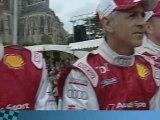 24 heures du Mans - Parade : Tom Kristensen et l'Audi N°1