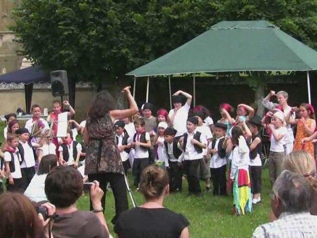 La chorale des élèves Musicavoult 2009