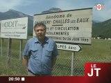 Des gitans installés sur l'aérodrome de Challes-les-Eaux