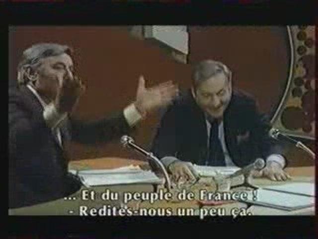 La gueule de l'autre avec Michel Serrault et Jean Poiret