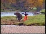 Humour - Pub - La difficile pêche aux saumons en Alaska