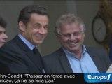 Cohn-Bendit redit à Sarkozy son opposition à Barroso