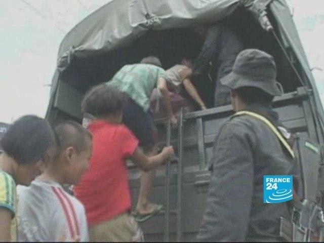 Burma: ethnic Karens under attack