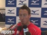 Interview de Frédérick Bousquet