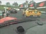 Caméra enbarqué à bord d'une Lotus Elise