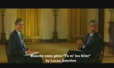 Obama vs Mouche sans gene