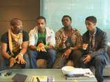 X Factor stars JLS go acapella for ITN ON