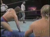 Blue Bloods vs. Bunkhouse Buck/Dick Slater-WCW Tag Titles