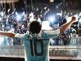 Pub Adidas F50i avec Zidane et Messi