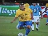 Italie 0 - 3 Brésil - Coupe des confédérations