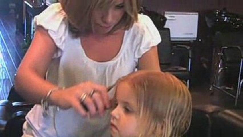 Kid's First Haircut
