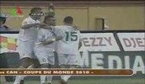 "Algérie 2 - Zambia 0  ""Ma'ak ya el Khadra,  Ma'ak ya Dzair"""